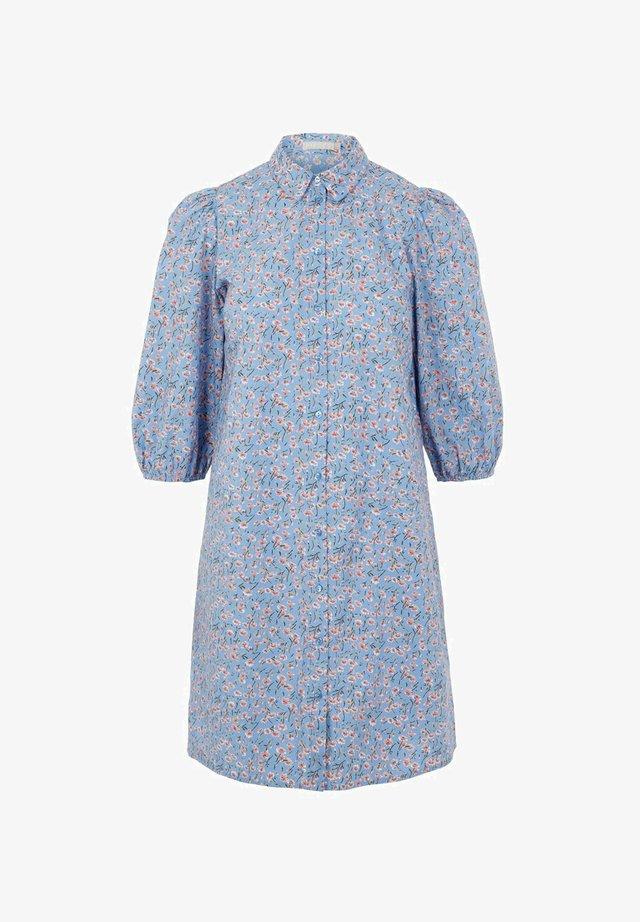 Skjortekjole - kentucky blue
