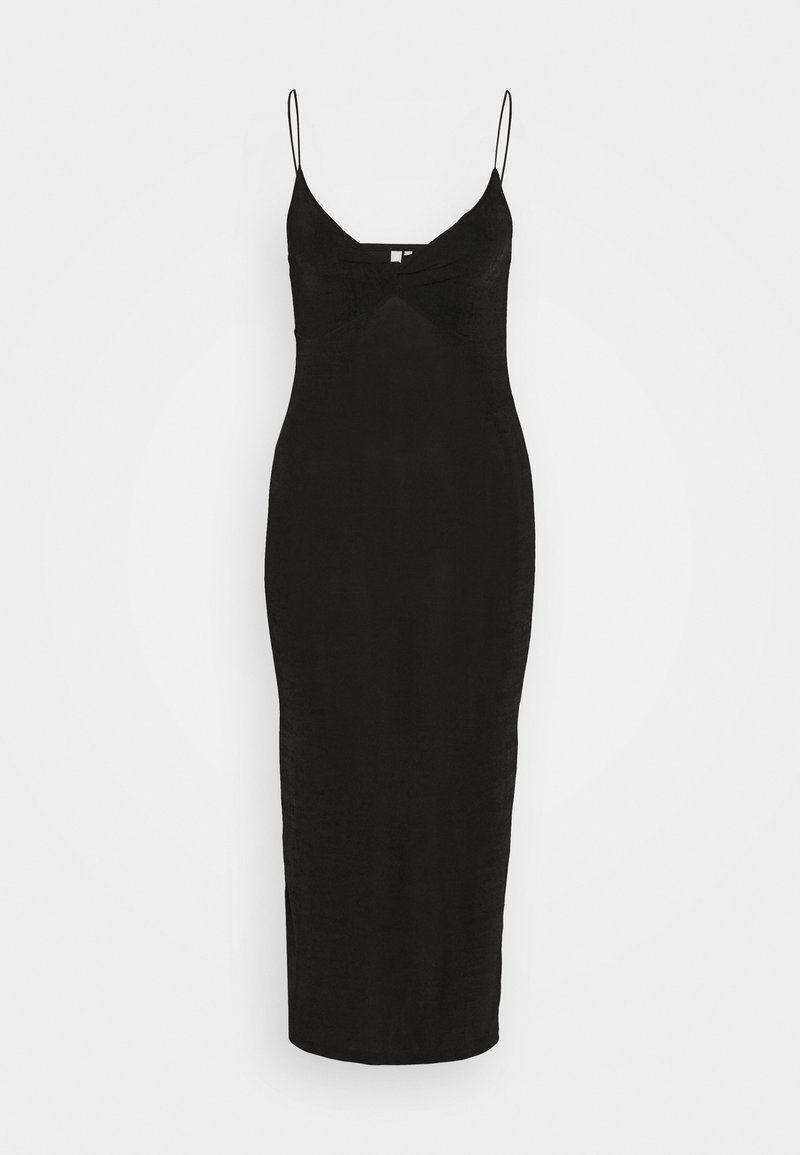 Pieces - PCALBA STRAP DRESS - Žerzejové šaty - black