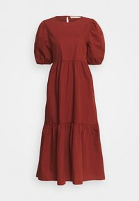 Pieces - PCPARSLEY  - Korte jurk - dark brown - 4