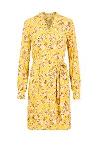 Pieces - Shirt dress - ceylon yellow - 0