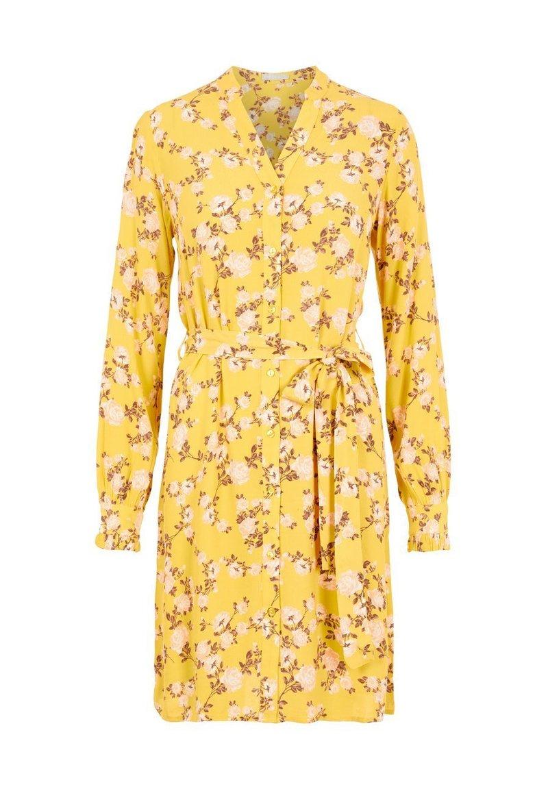 Pieces - Shirt dress - ceylon yellow