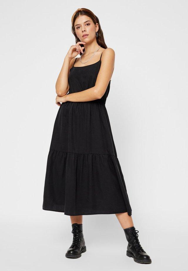 Spijkerjurk - black