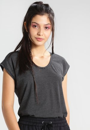 PCBILLO - T-shirt z nadrukiem - black