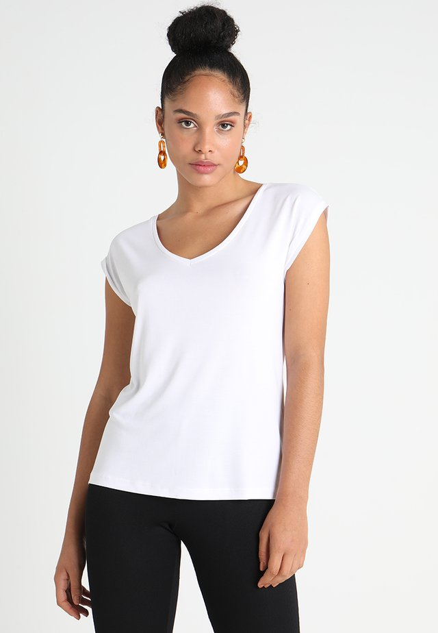 PCKAMALA TEE - Basic T-shirt - bright white