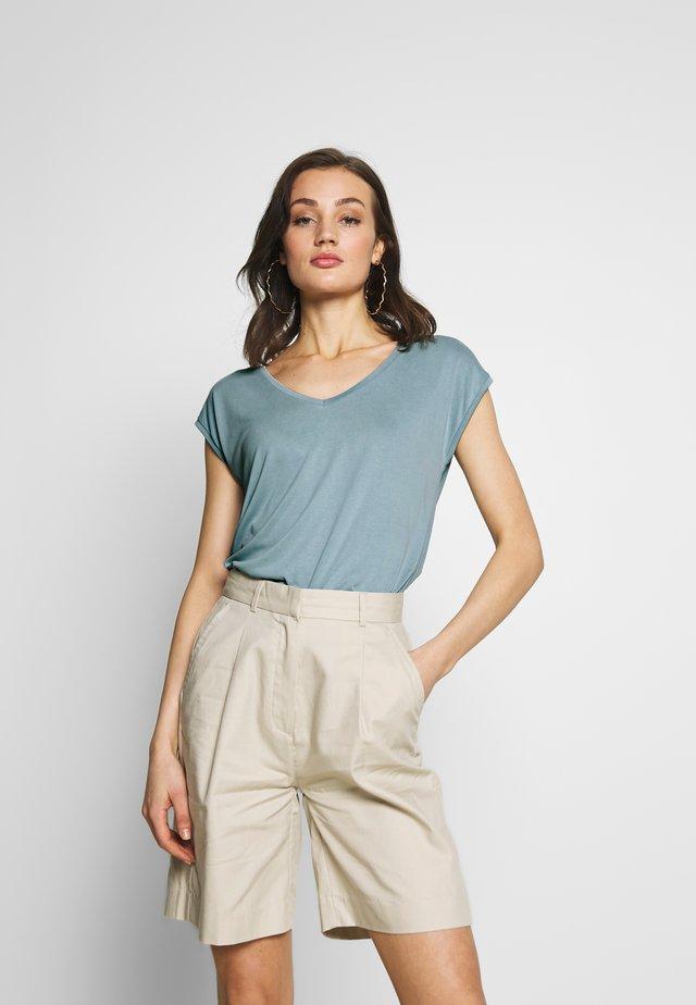 PCKAMALA TEE NOOS - T-Shirt basic - slate