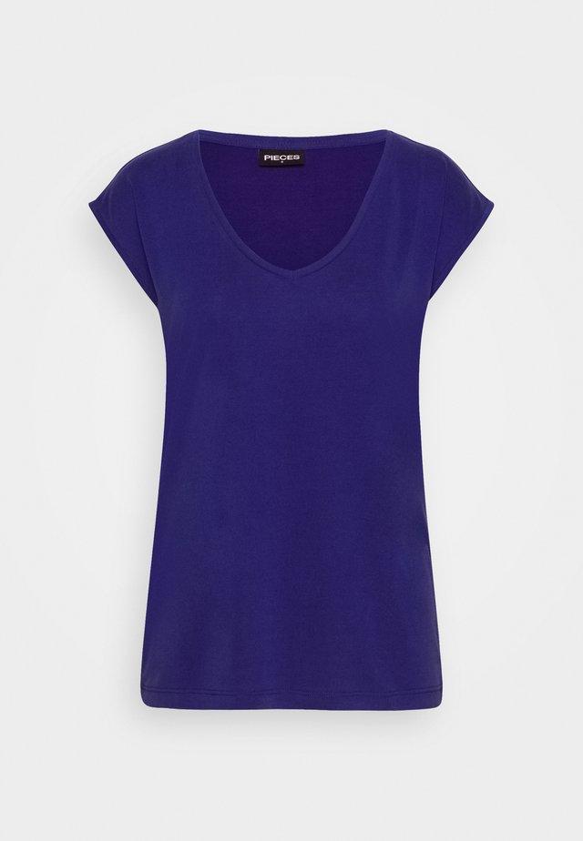 PCKAMALA TEE - T-shirt basic - royal blue