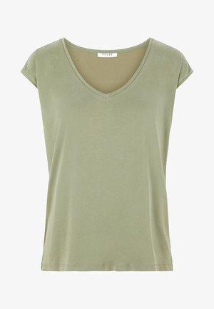 PCKAMALA TEE NOOS - T-shirt basique - deep lichen green
