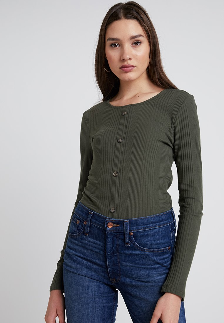Pieces - PCDITTE - Long sleeved top - grape leaf