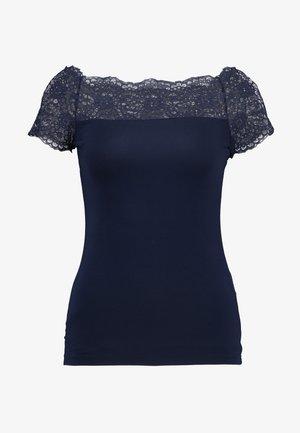 PCSIE - T-shirt print - maritime blue