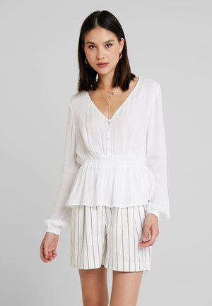 PCWIKKI - Long sleeved top - bright white