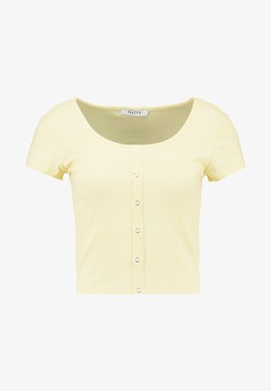 PCELENA - T-shirt print - mellow yellow