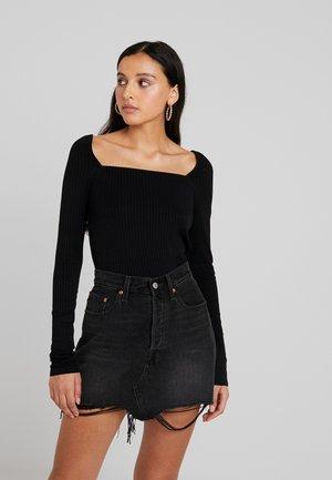 PCCLARA  - Maglietta a manica lunga - black