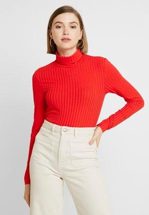 T-shirt à manches longues - high risk red