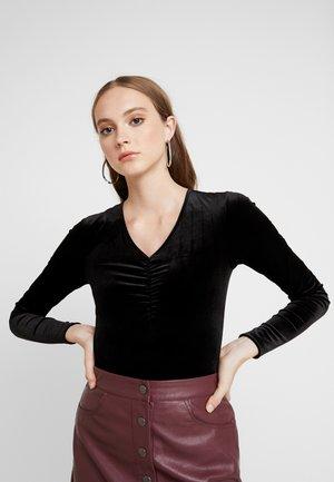 PCJADE BODYSTOCKING - T-shirt à manches longues - black