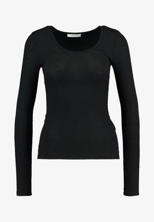 PCKAROLINE - T-shirt à manches longues - black