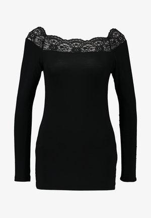 PCSIE - T-shirt à manches longues - black