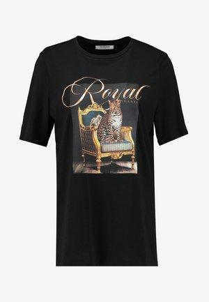 PCCASY TEE - T-Shirt print - black