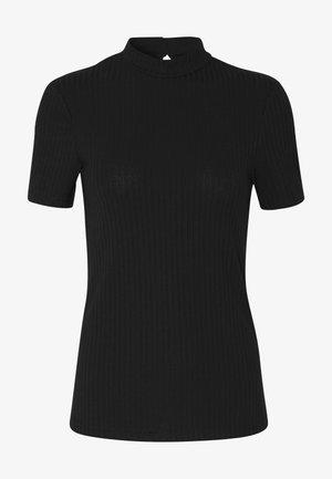 PCKYLIE T NECK - T-paita - black