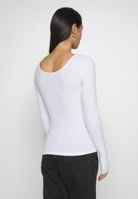 Pieces - PCKITTE - Longsleeve - bright white - 2