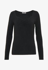 Pieces - PCJAWANNA - Long sleeved top - black - 3