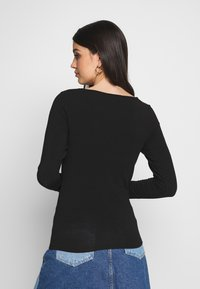 Pieces - PCJAWANNA - Long sleeved top - black - 2