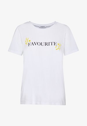 PCNIDINA - T-shirts basic - bright white