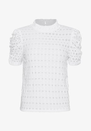 PCCHRISTY  TOP  - T-shirts print - bright white