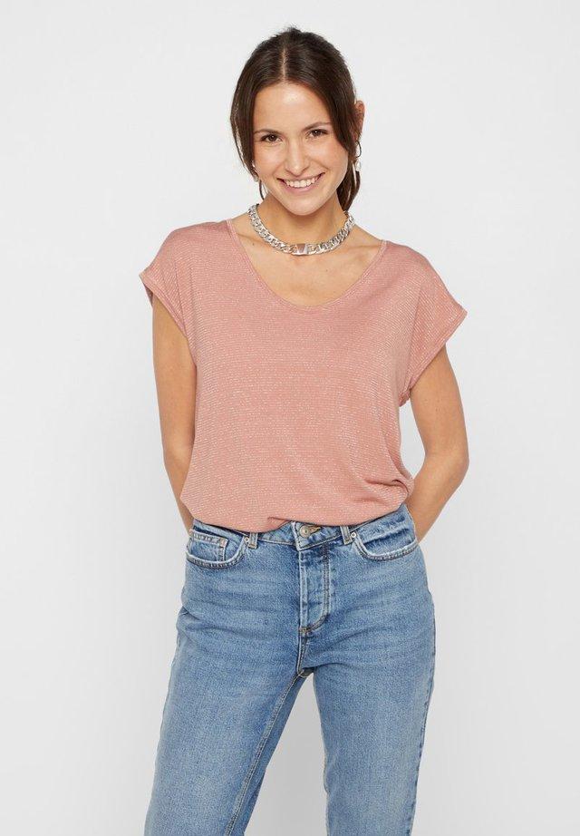 T-shirt print - cameo brown