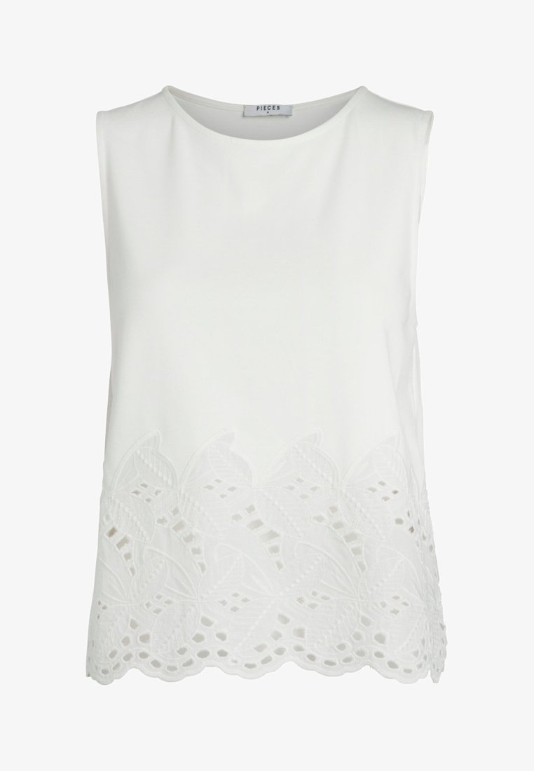 Pieces - Blouse - offwhite