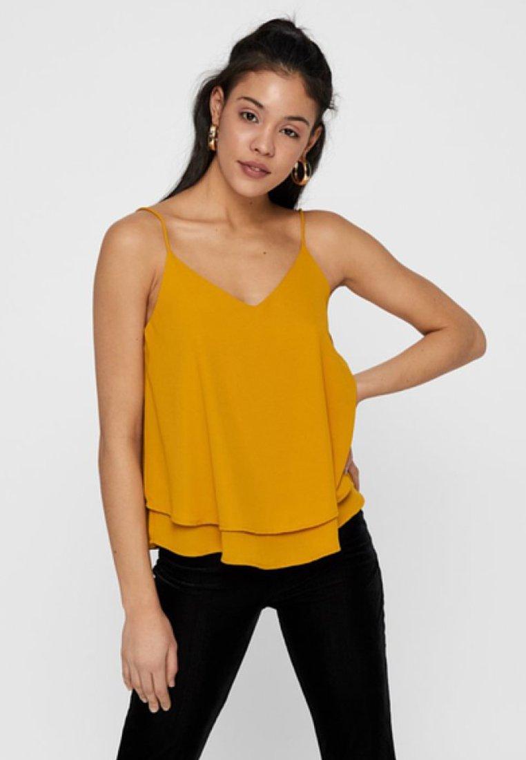 Pieces - NOOS - Top - yellow