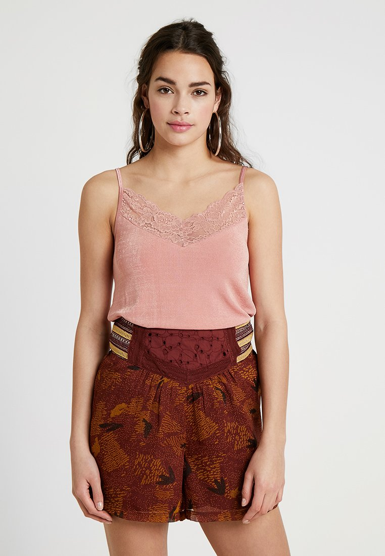 Pieces - PCLUCY - Top - rose tan