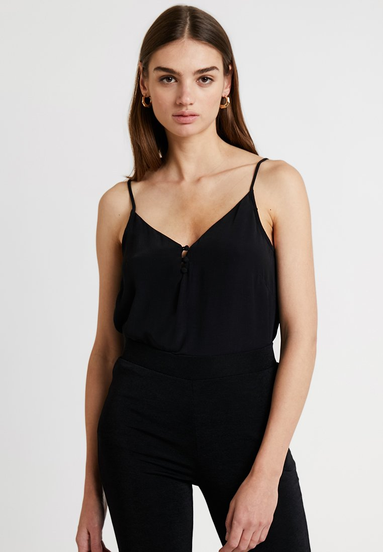 Pieces - PCLAURA  - Topper - black