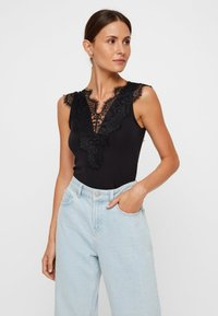 Pieces - Bluse - black - 0
