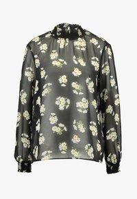 Pieces - PCAMALIE - Blouse - black/small flower - 4
