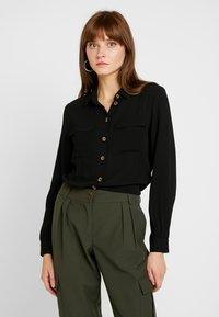 Pieces - PCJANNIS - Camisa - black - 0