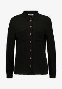 Pieces - PCJANNIS - Camisa - black - 4