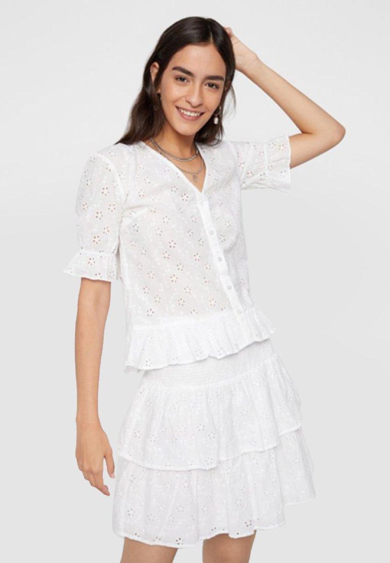 Pieces - Blouse - bright white