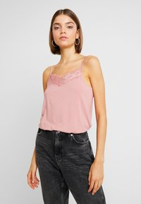 Pieces - Blusa - ash rose - 0