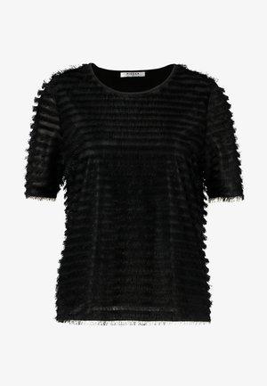 PCJANE - T-shirt z nadrukiem - black