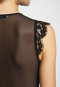 Pieces - BODYSTOCKING  - T-shirt med print - black - 5
