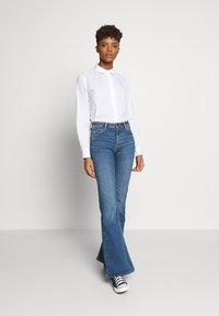 Pieces - PCJETTE SHIRT - Skjorte - bright white - 1