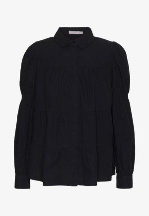 PCCLAUDIA LS SHIRT D2D - Overhemdblouse - black