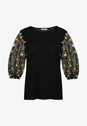 PCTULLE  ORGANZA - Långärmad tröja - black