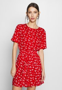 Pieces - PCNYA - Blouse - goji berry - 0