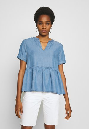 PCWHY ABBY - Bluzka - light blue denim