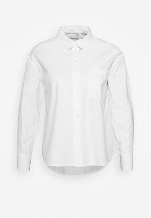 PCALABAMA - Hemdbluse - bright white