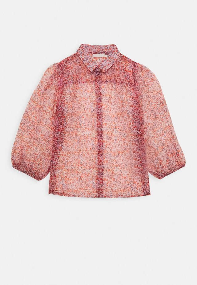 PCSIA 3/4 ORGANZA - Button-down blouse - grenadine