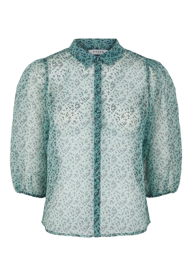PCSIA 3/4 ORGANZA - Button-down blouse - feldspar