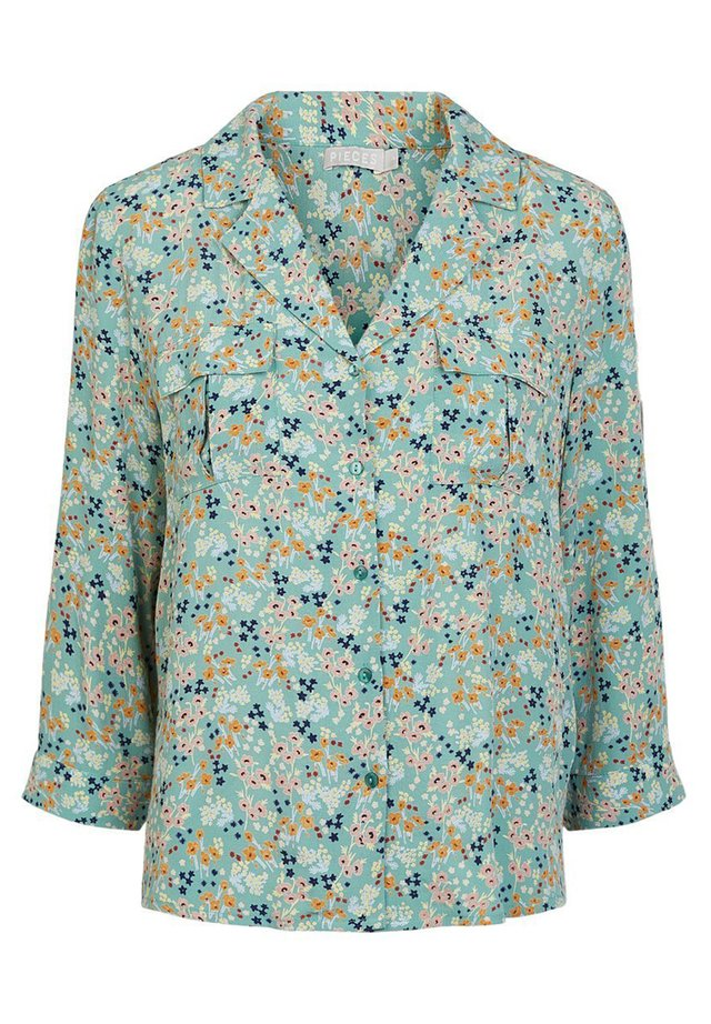 Button-down blouse - feldspar
