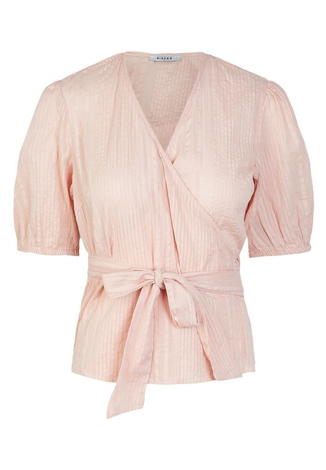 BINDEGÜRTEL - Blouse - misty rose